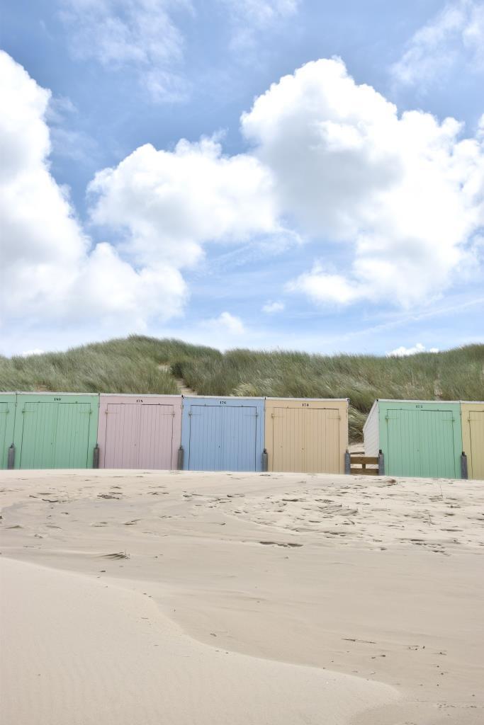 Pastell Strandhaus Zeeland