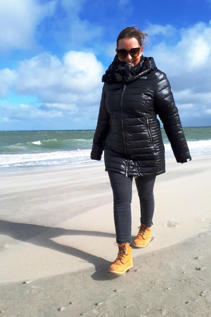 Herbst Strand Zeeland