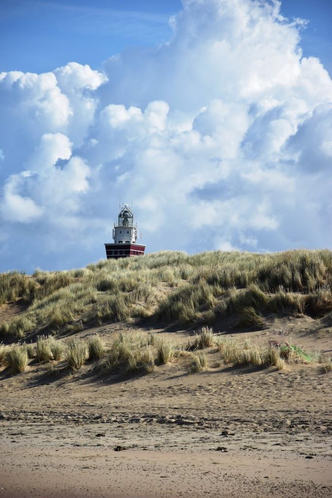 Strand Leuchtturm Ouddorp