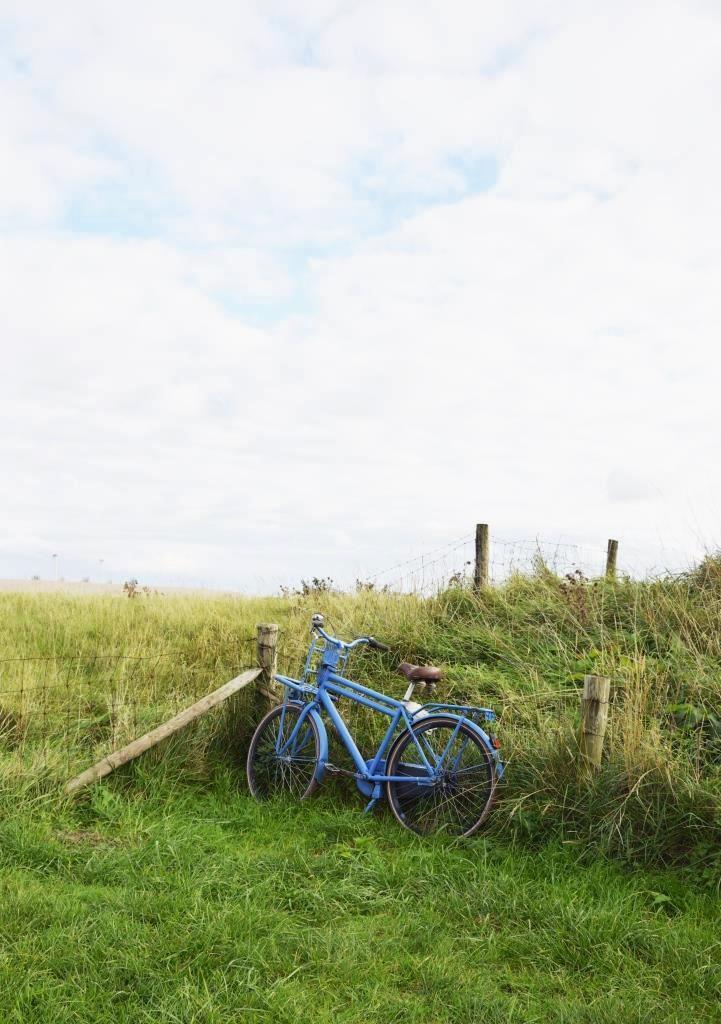 Fahrrad Meer Dünen
