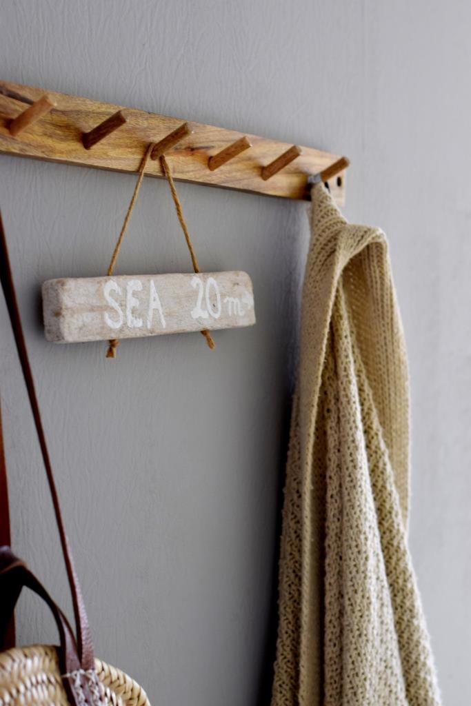 Holzschild Treibholz DIY
