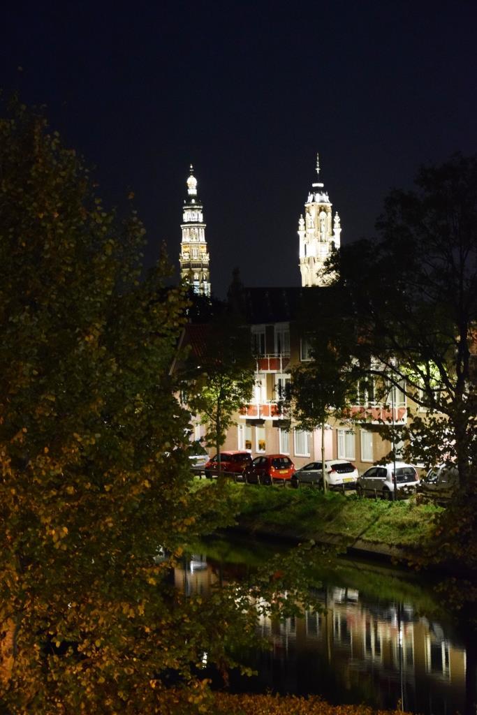 Middelburg bei Nacht