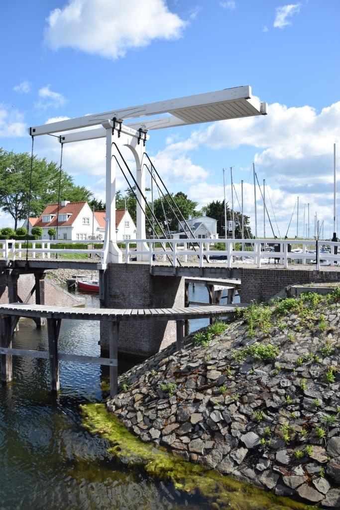 Brücke Hafen Veere