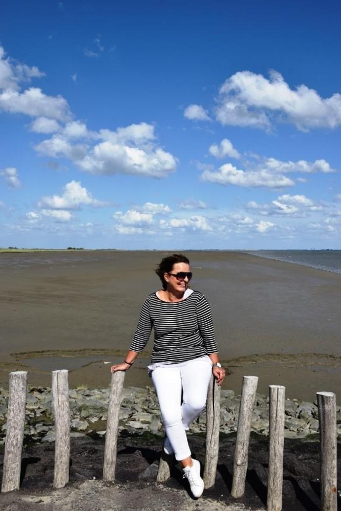 Bloggerin Zeeland Strand