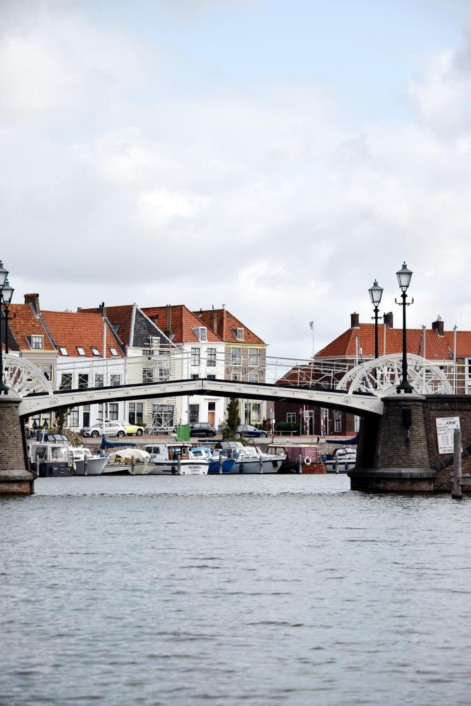 Brücke Gracht Middelburg