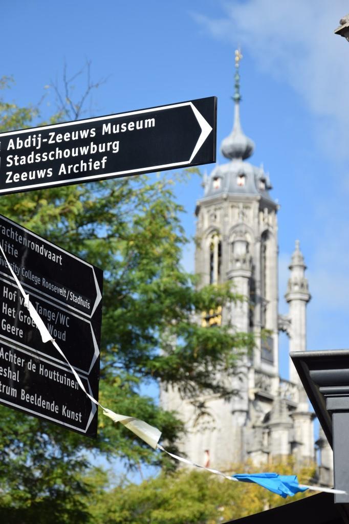 Wegweiser Middelburg