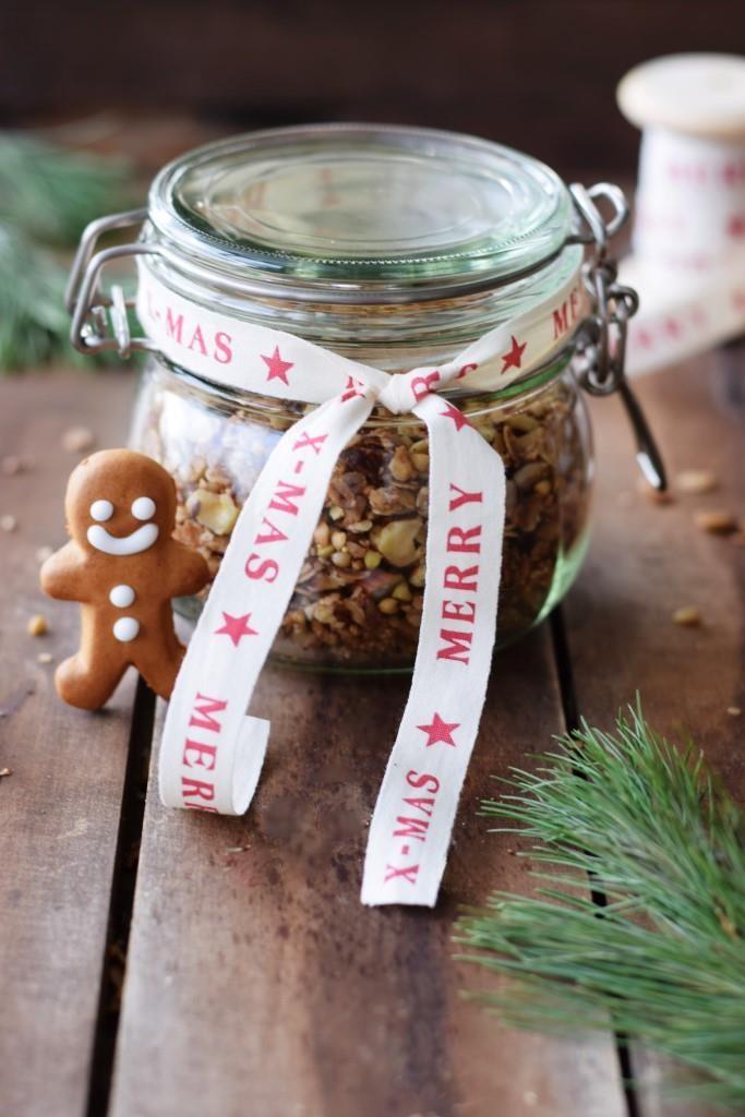 Geschenke aus der Küche Weihnachtsgranola