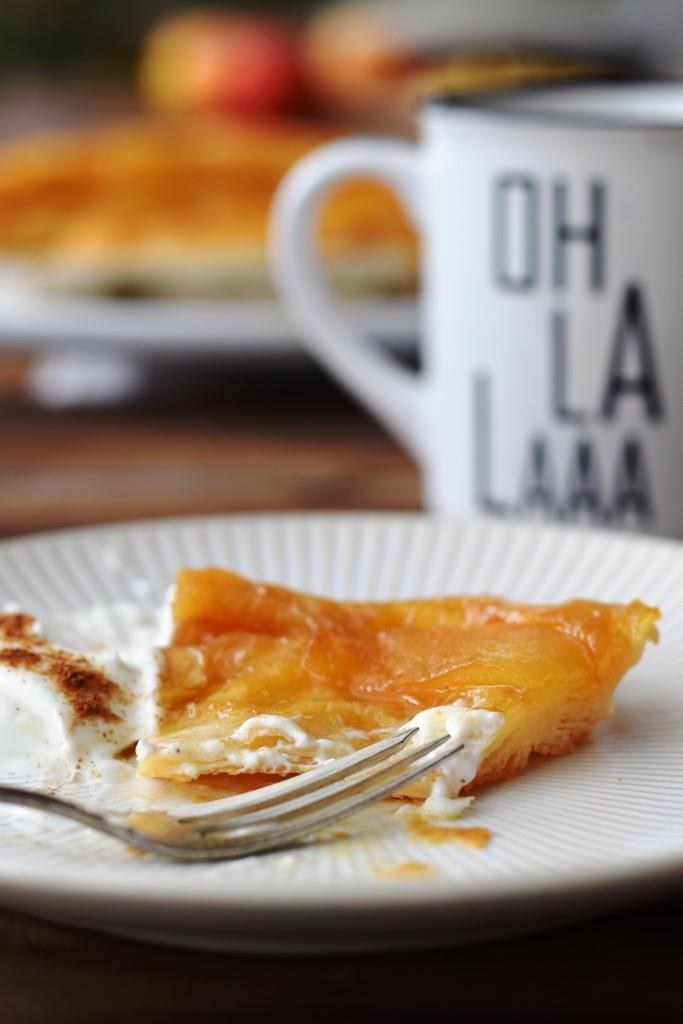 Französischer Apfelkuchen Tarte Tatin
