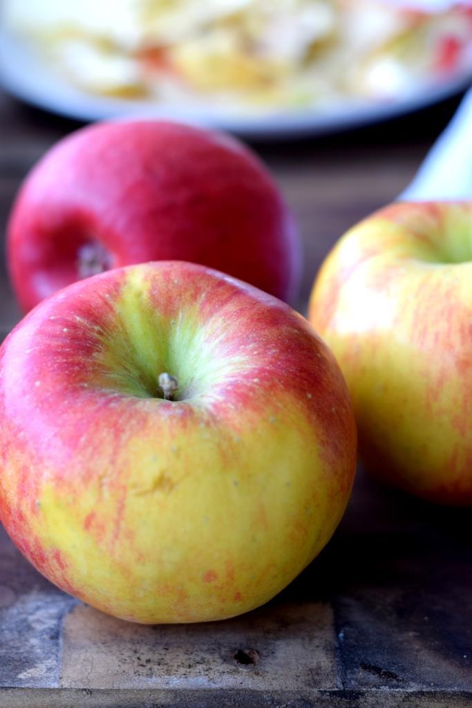Äpfel für den Apfelkuchen