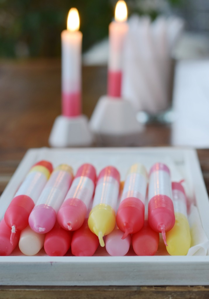 Kerzen selber färben
