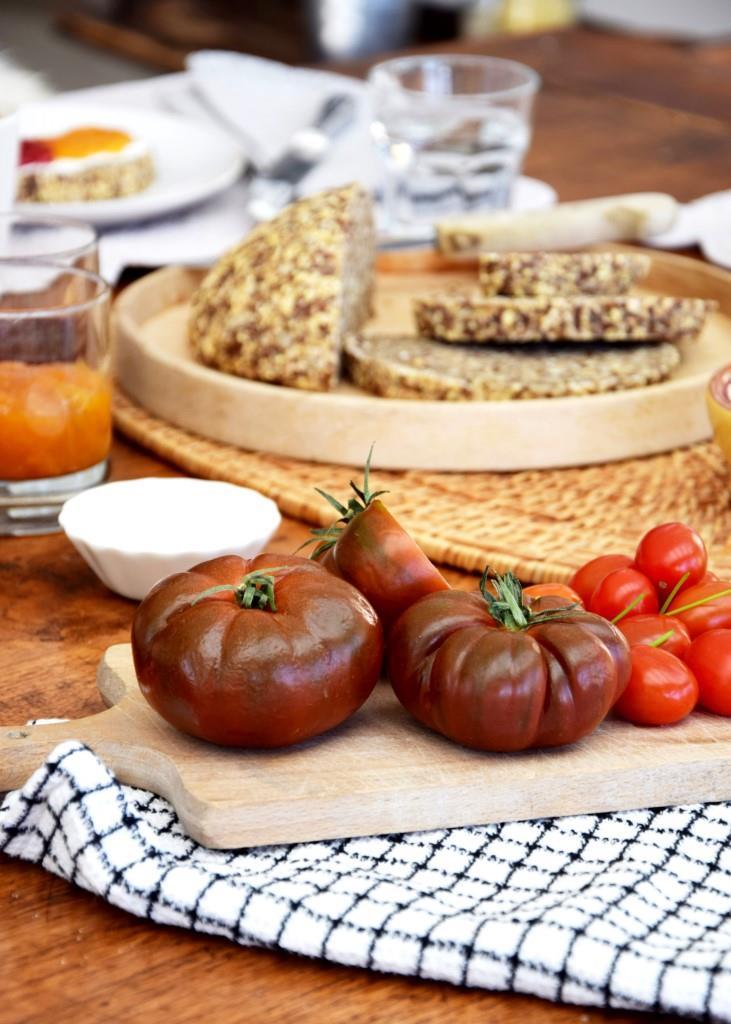Brot Tomaten Frühstück