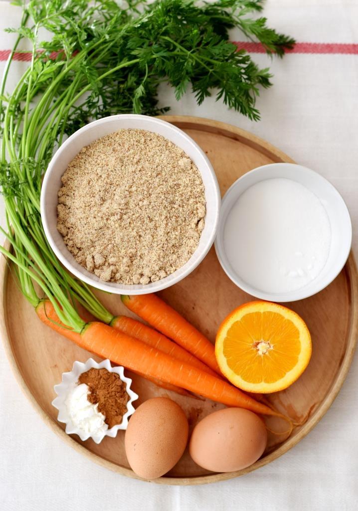 Zutaten Karottenkuchen glutenfrei