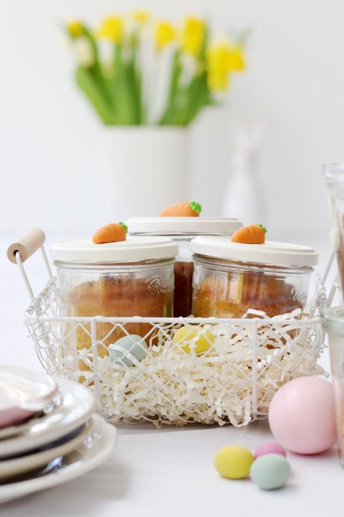 Kuchen Ostern Körbchen