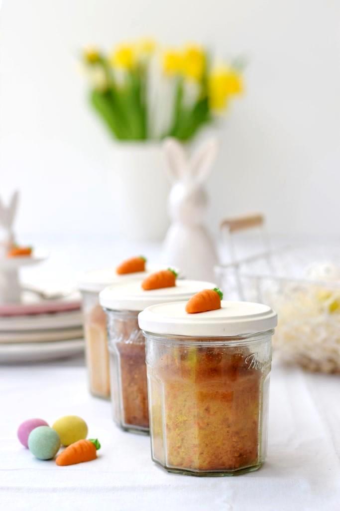 Kuchen im Glas Ostern
