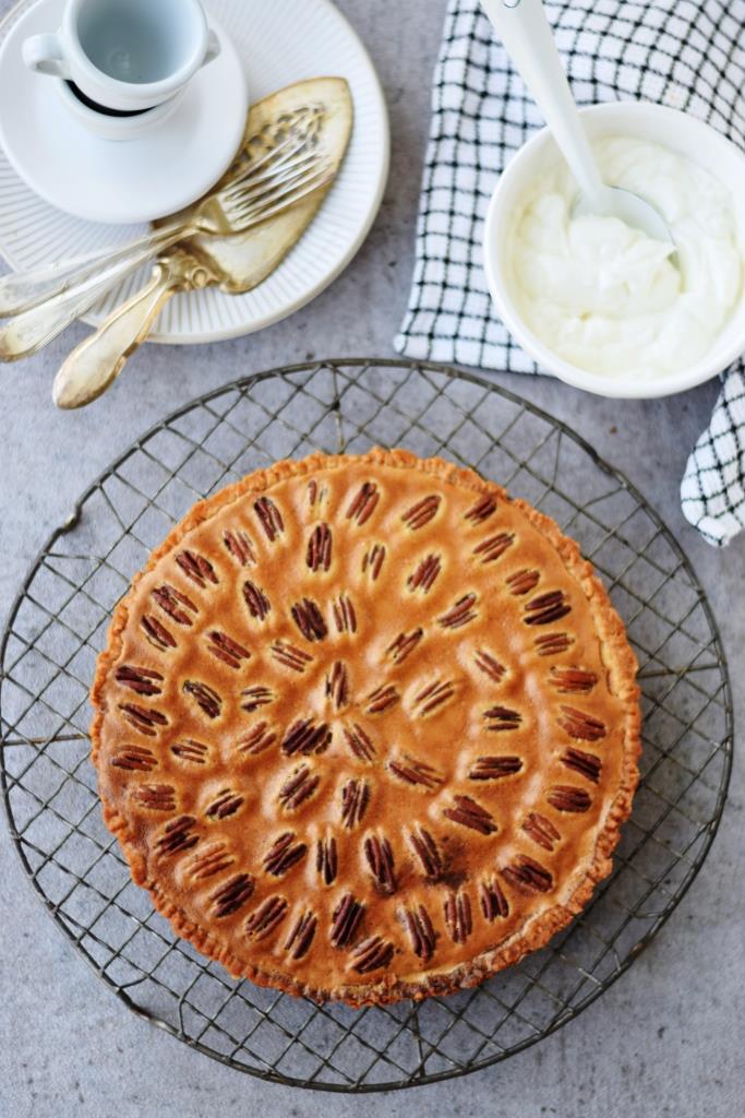 Pecan Pie Rezept Pekannuss Tarte - Unterfreundenblog