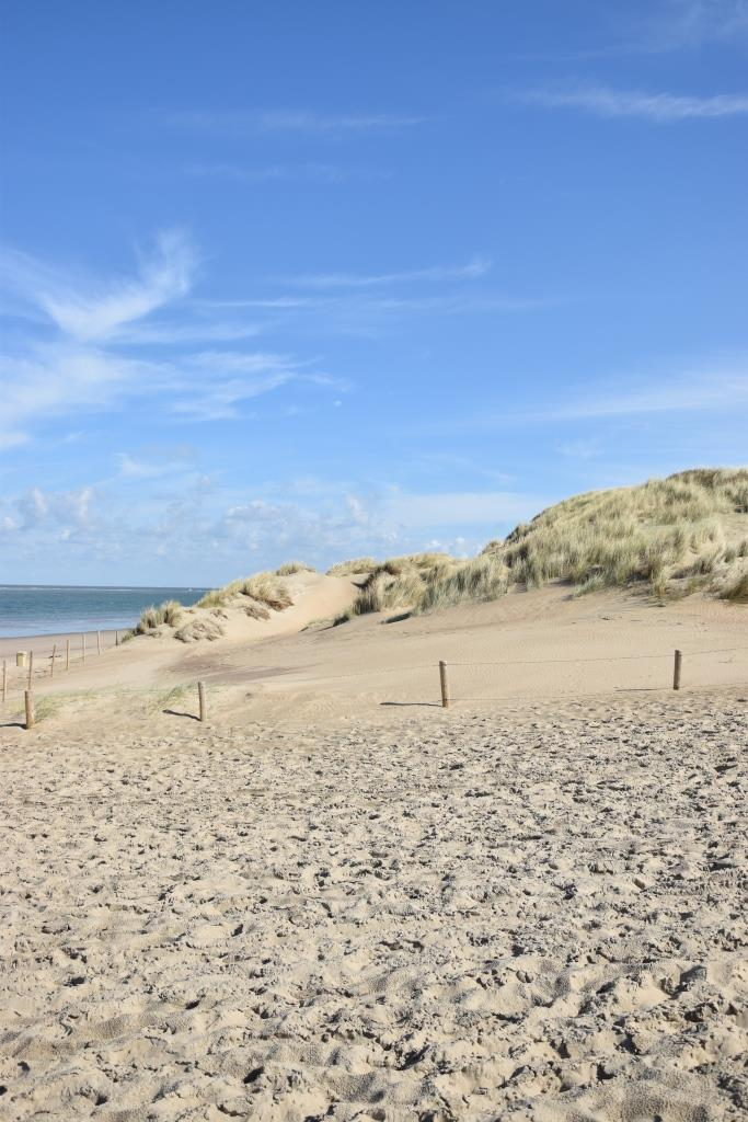Am Strand in Ouddorf