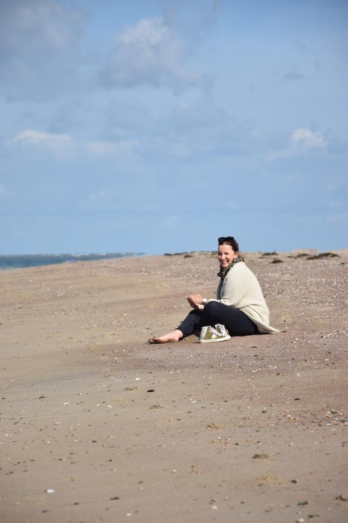 Pause am Strand von Zeeland