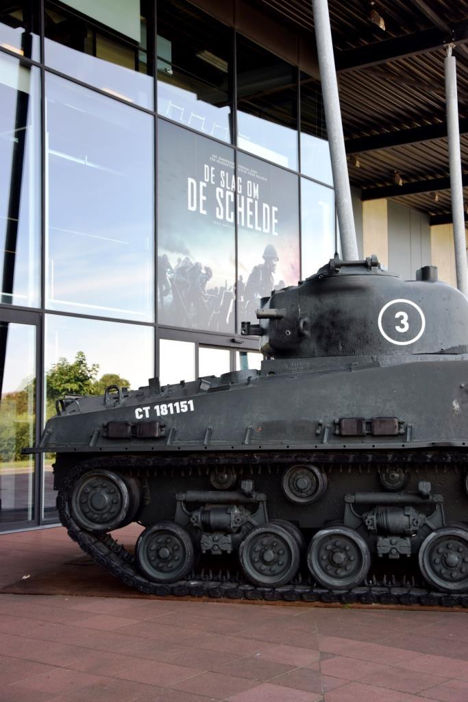Film Schlacht um die Schelde / De Slag om de Schelde läuft hier im Kino in Vlissingen