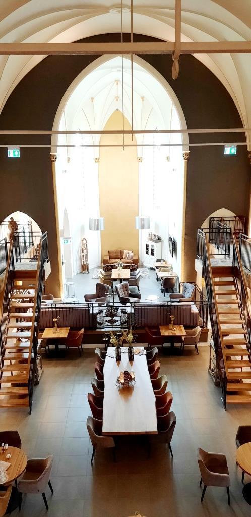 Hoteltipp Zeeland: Das Kerkhotel Biervliet - himmlisch übernachten in einer ehemaligen Kirche