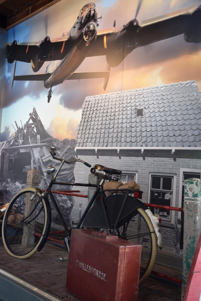 Polderhaus-Museum Westkapelle - eine Szene aus dem zweiten Weltkrieg