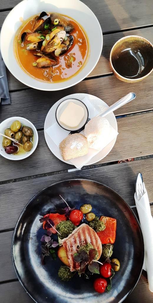 Herrliche Vorspeisen - Restaurant Groede, Fier