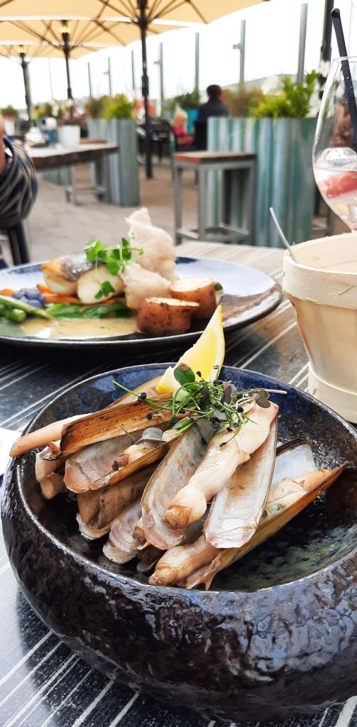 Feines und frische Fischgerichte im Restaurant Seafarm in Kamperland Zeeland
