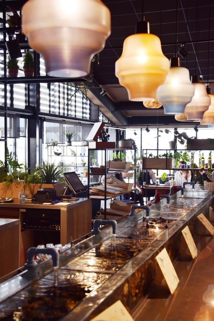 Seafarm Kamperland Zeeland - das Restaurant innen