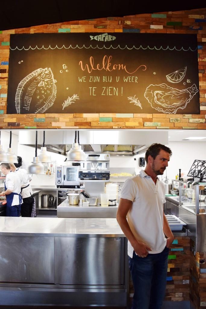 Seafarm Kamperland Zeeland - Führung mit Junior Chef Dave